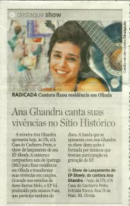 Ana Ghandra no DP - 17.08.14