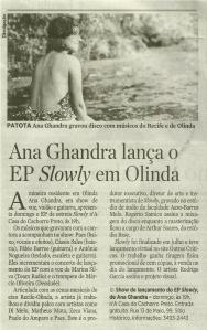 Ana Ghandra no JC - 17.08.14