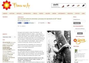 Entrevista pro site Flores no Ar